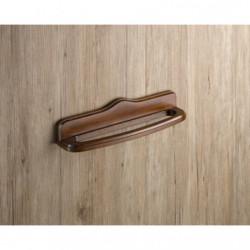 Toallero barra madera rustico