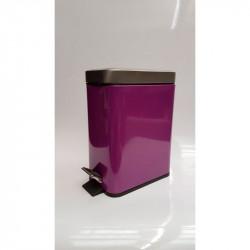 Cubo metal morado 5l