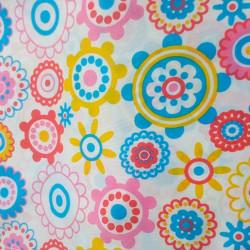 Cortina multicolor 180x200