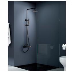 Kit ducha monomando negro...