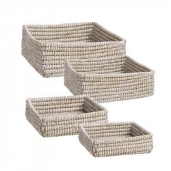 Juego de cuatro cestas...
