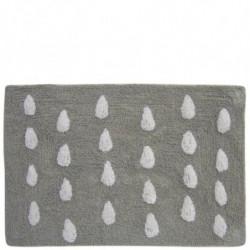 Alfombra gris claro paraguas
