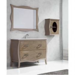 Conjunto mueble baño estilo d
