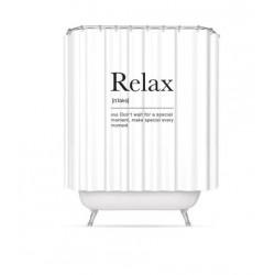 Cortina de baño relax