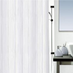 Cortina baño textil blanco...