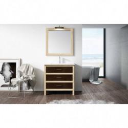 Conjunto mueble rustico 3...
