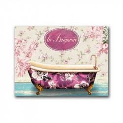 Lienzo o cuadro de baño con...