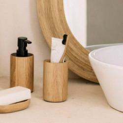 Dispensador baño bambú...