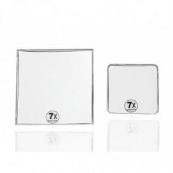 Espejo aumento cuadrado x7